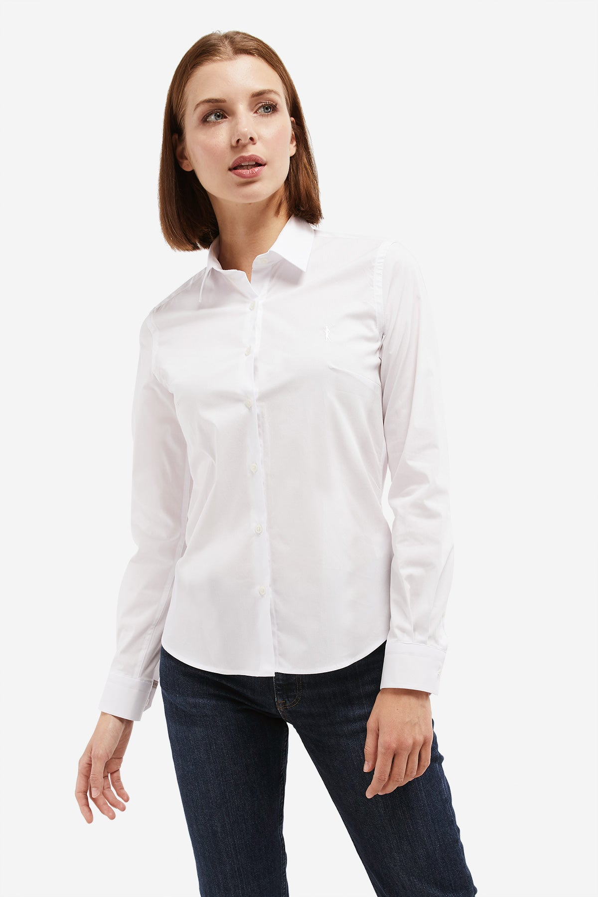 Camisa MISS RIGBY GO BASIC Blanco