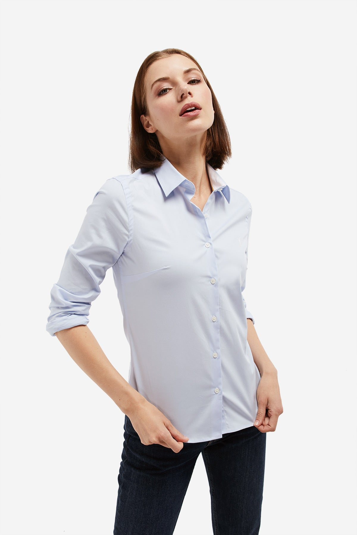 MISS RIGBY GO BASIC sky blue Shirt