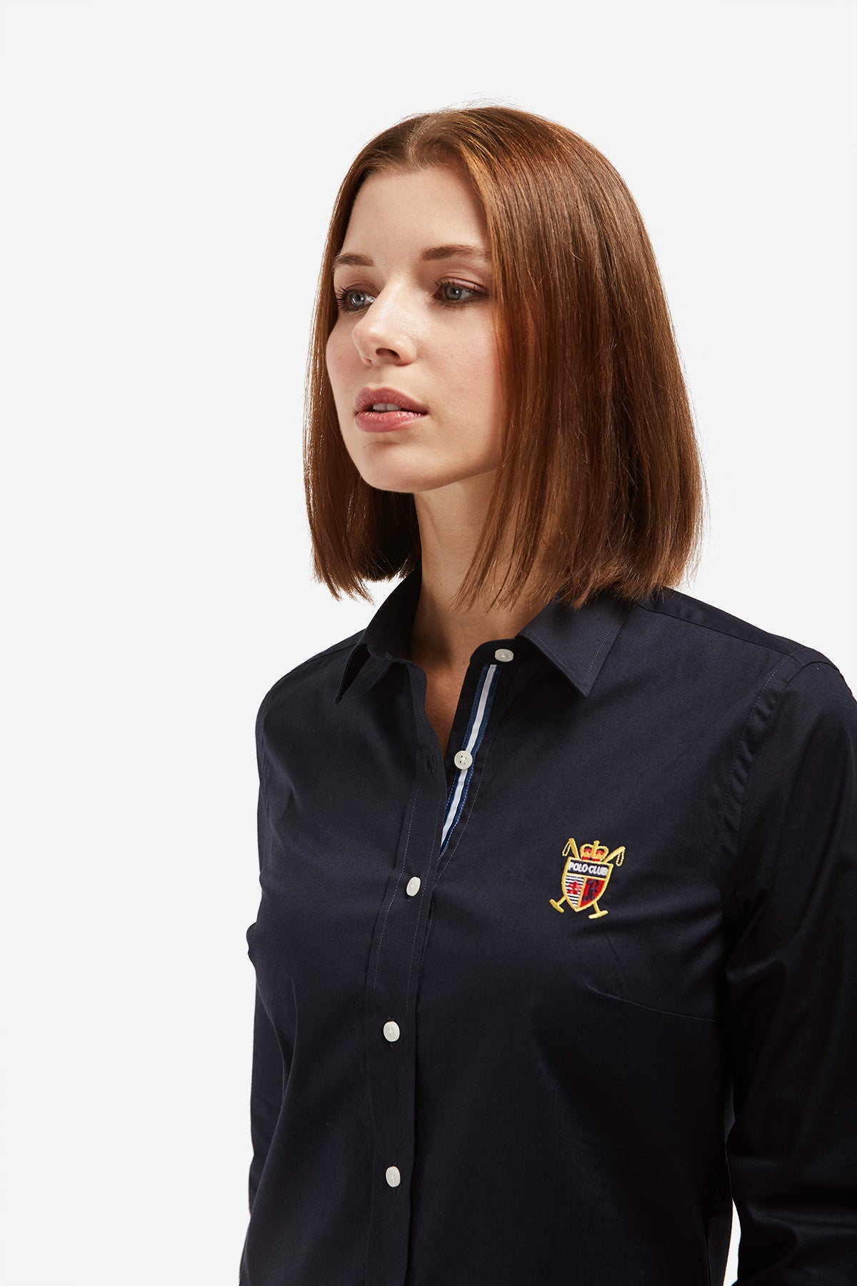 Camisa ROSE SHIELD BASIC Azul Marino