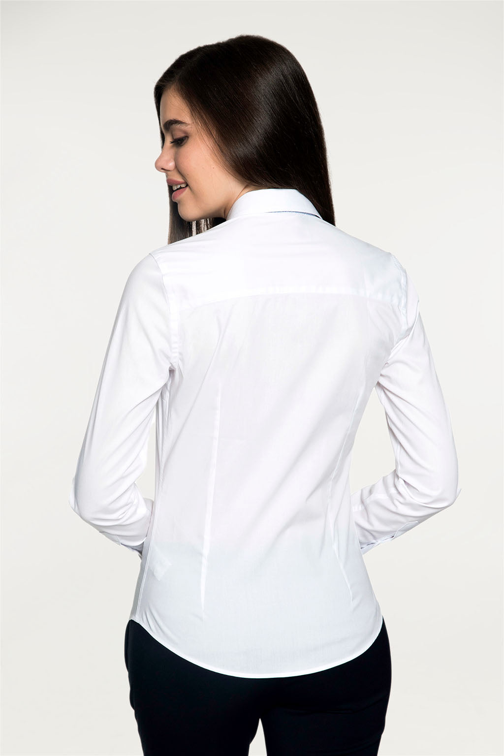 Camisa MISS RIGBY CONTRAST Blanco