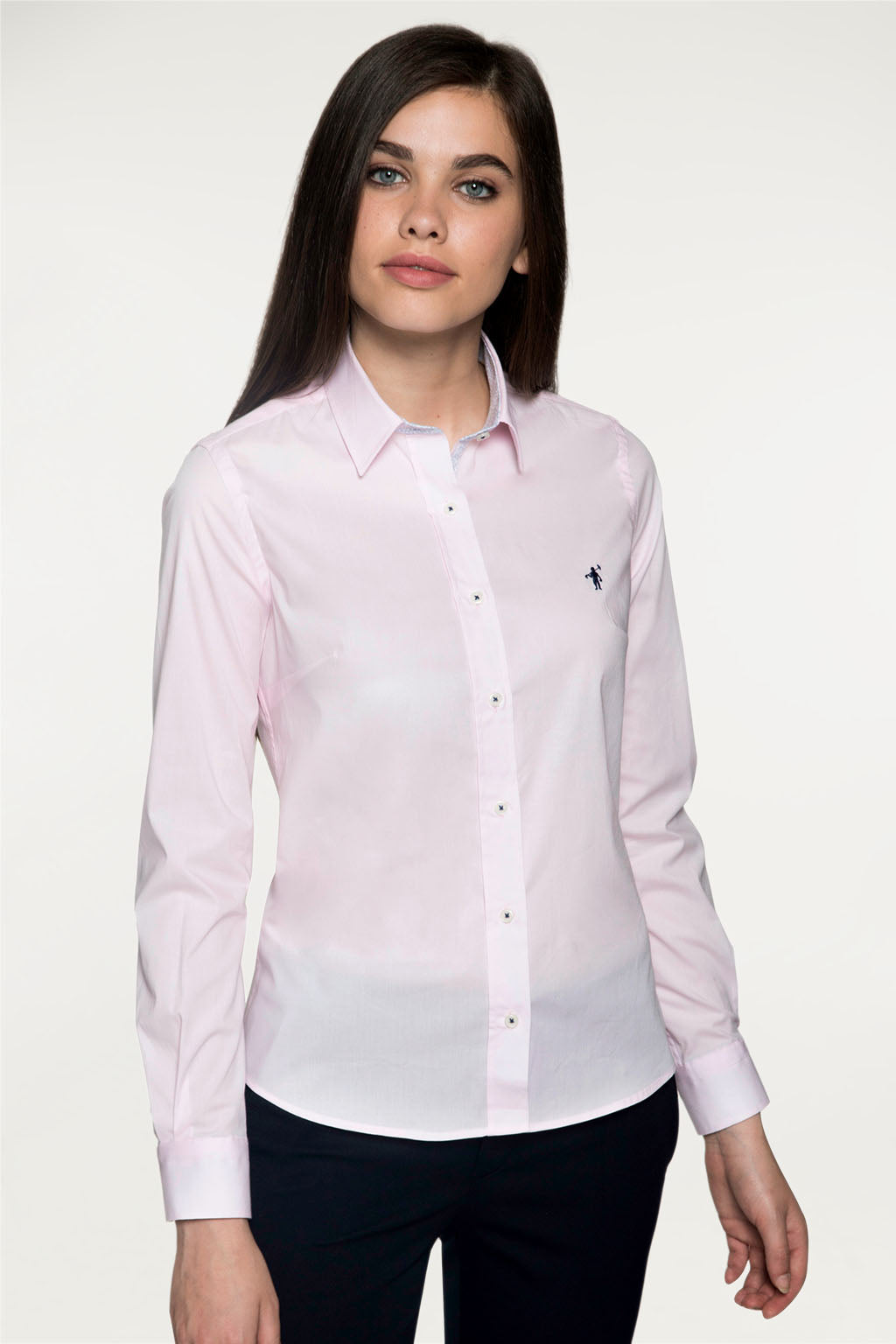 Camisa MISS RIGBY CONTRAST Rosa