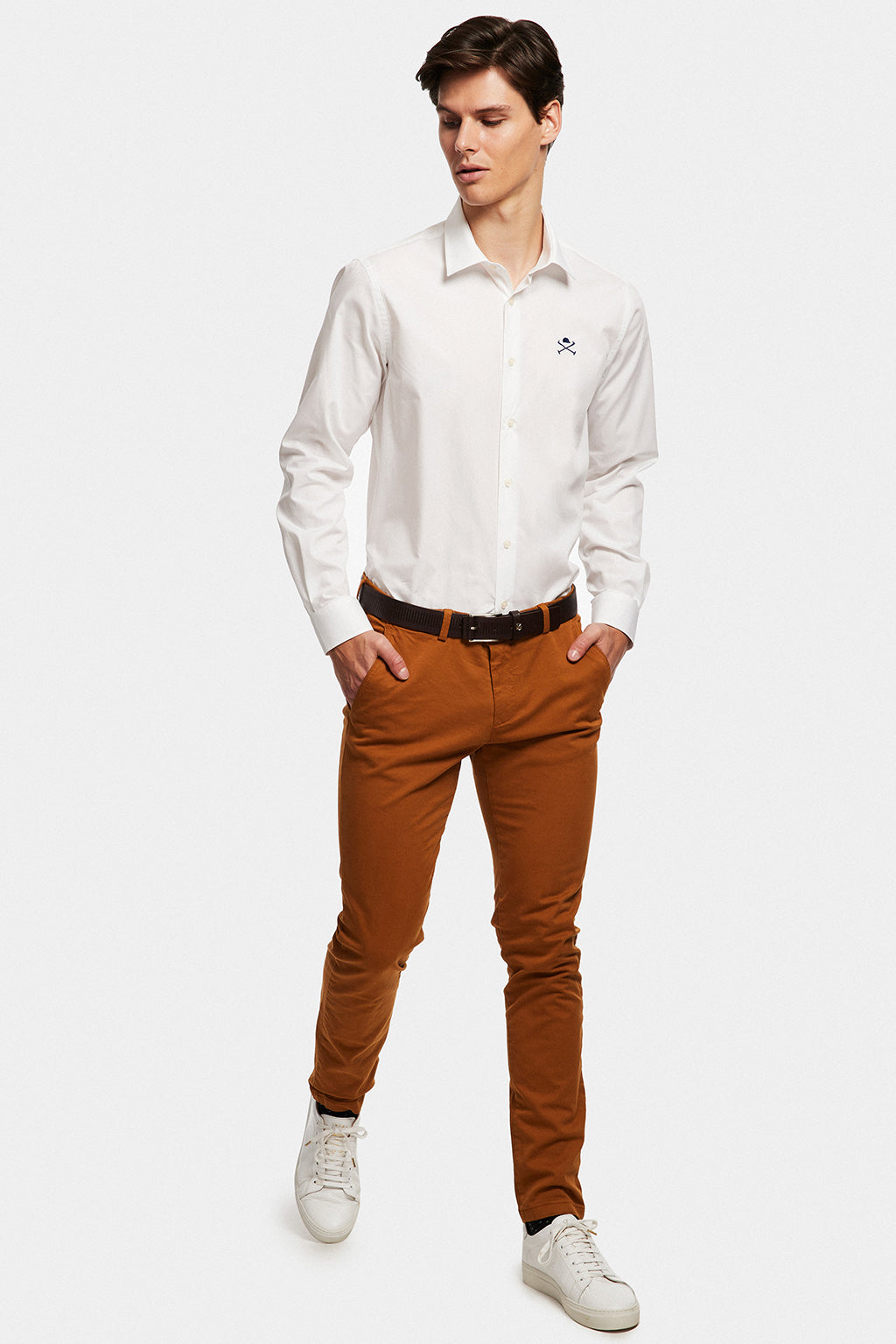 ACADEMY white Shirt