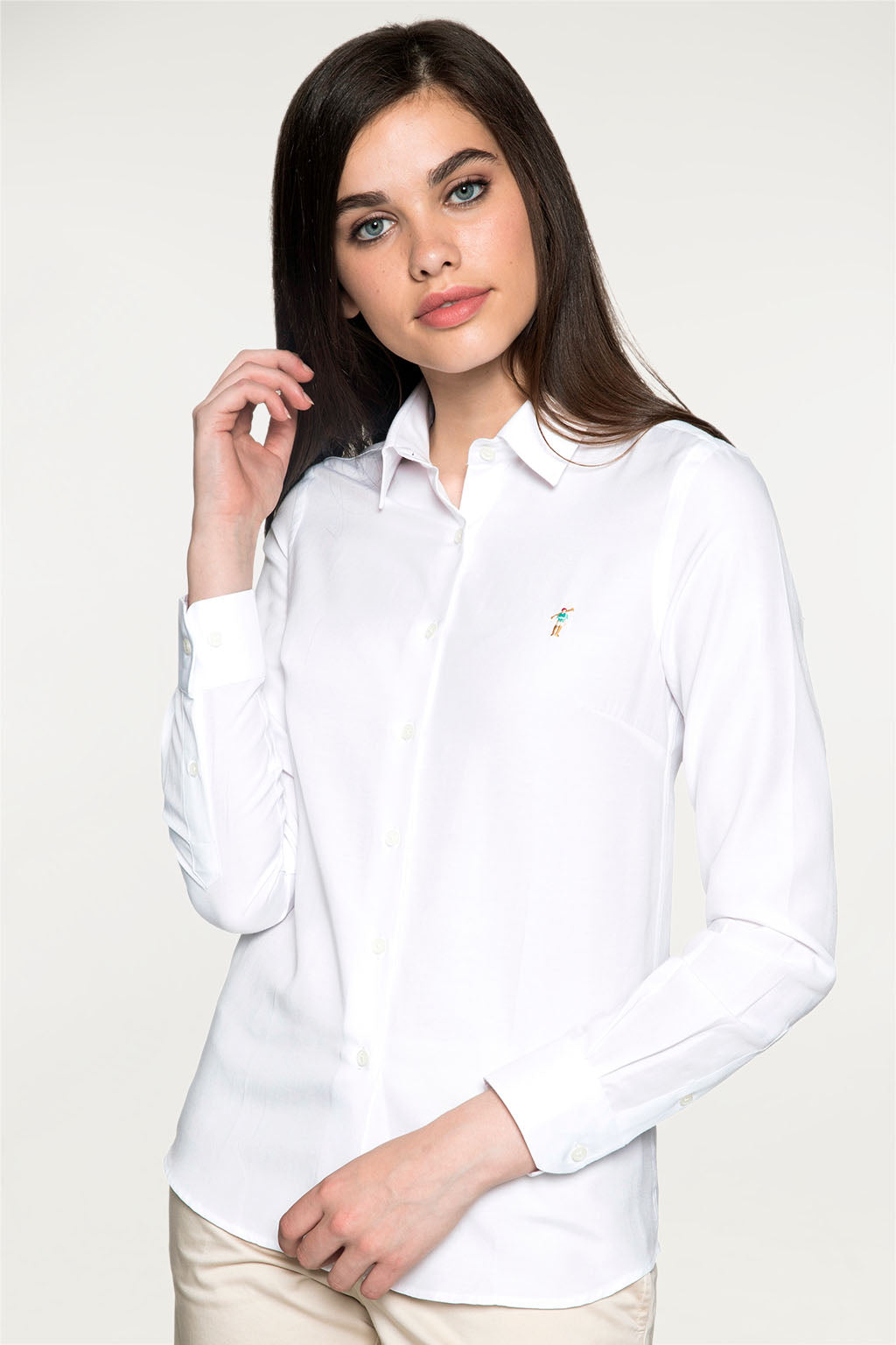 Camisa MISS RIGBY COLOR OXFORD Blanco