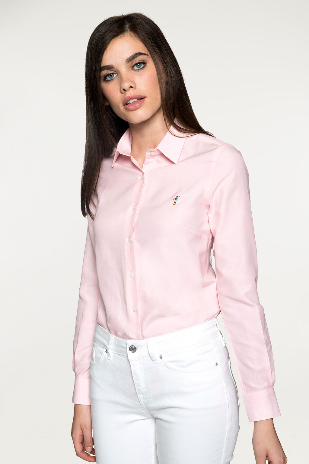 Camisa MISS RIGBY COLOR OXFORD Rosa