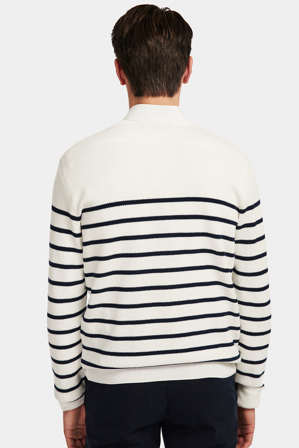 Jersey Navy Stripes Jersey Crudo-Marino