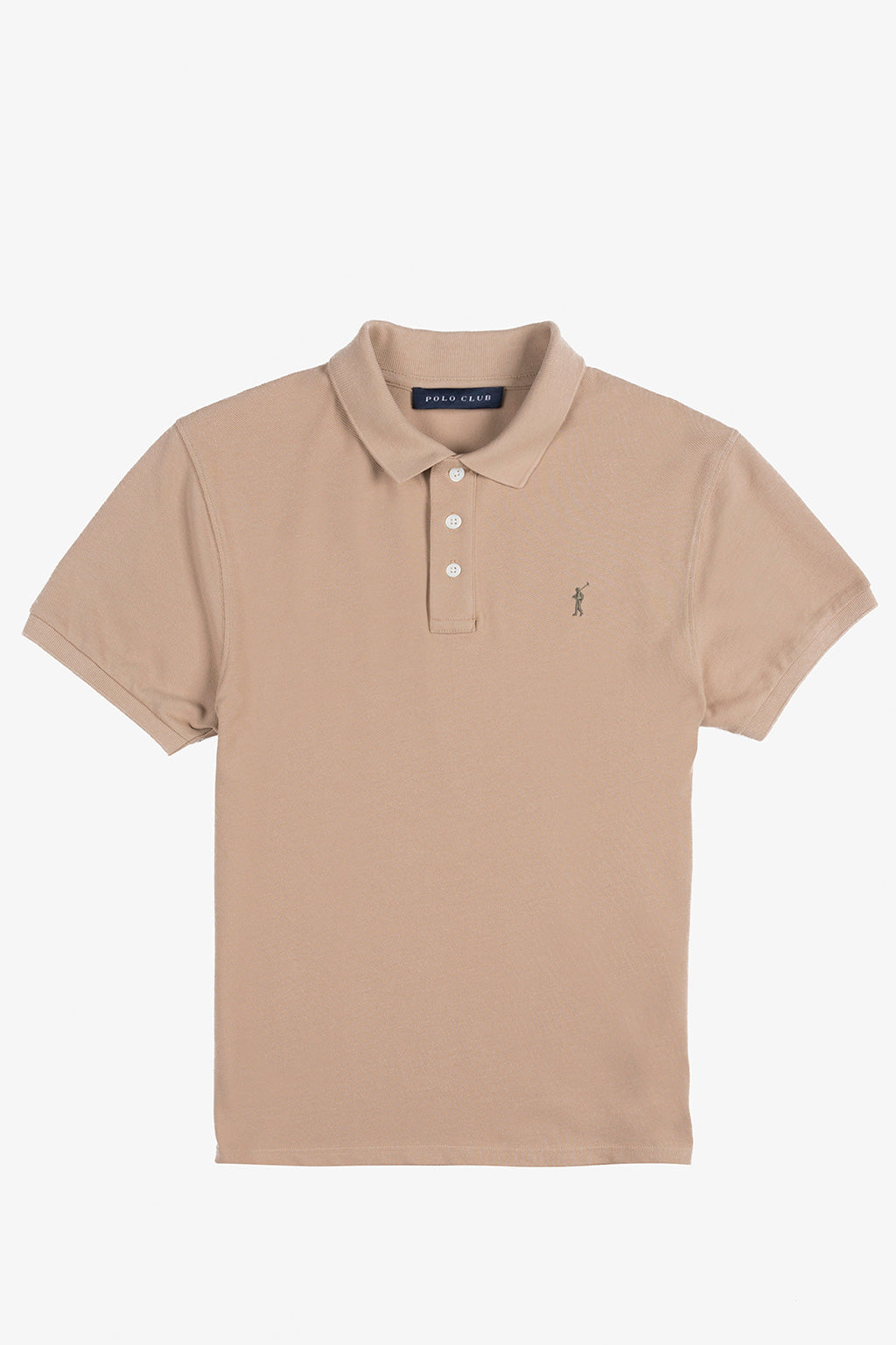 Sand custom fit polo shirt
