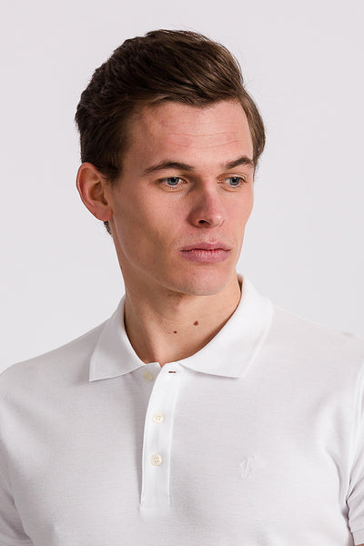 Polo Club Polo MINI RIGBY PLAIN Blanco POLOS