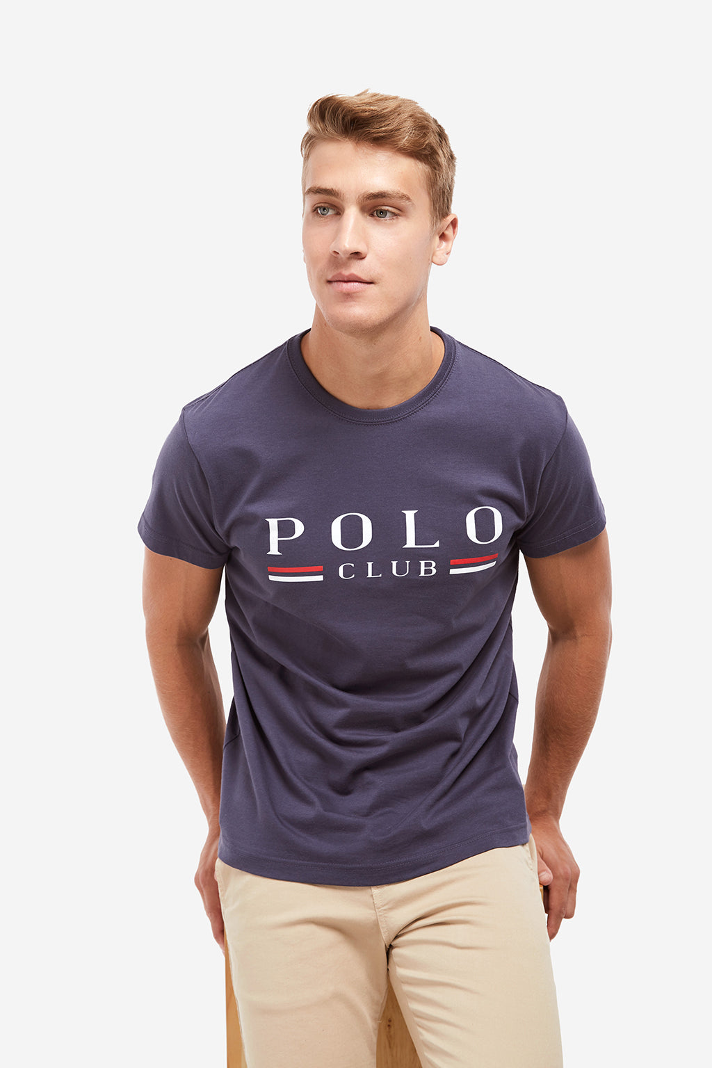Camiseta POLO Azul Denim