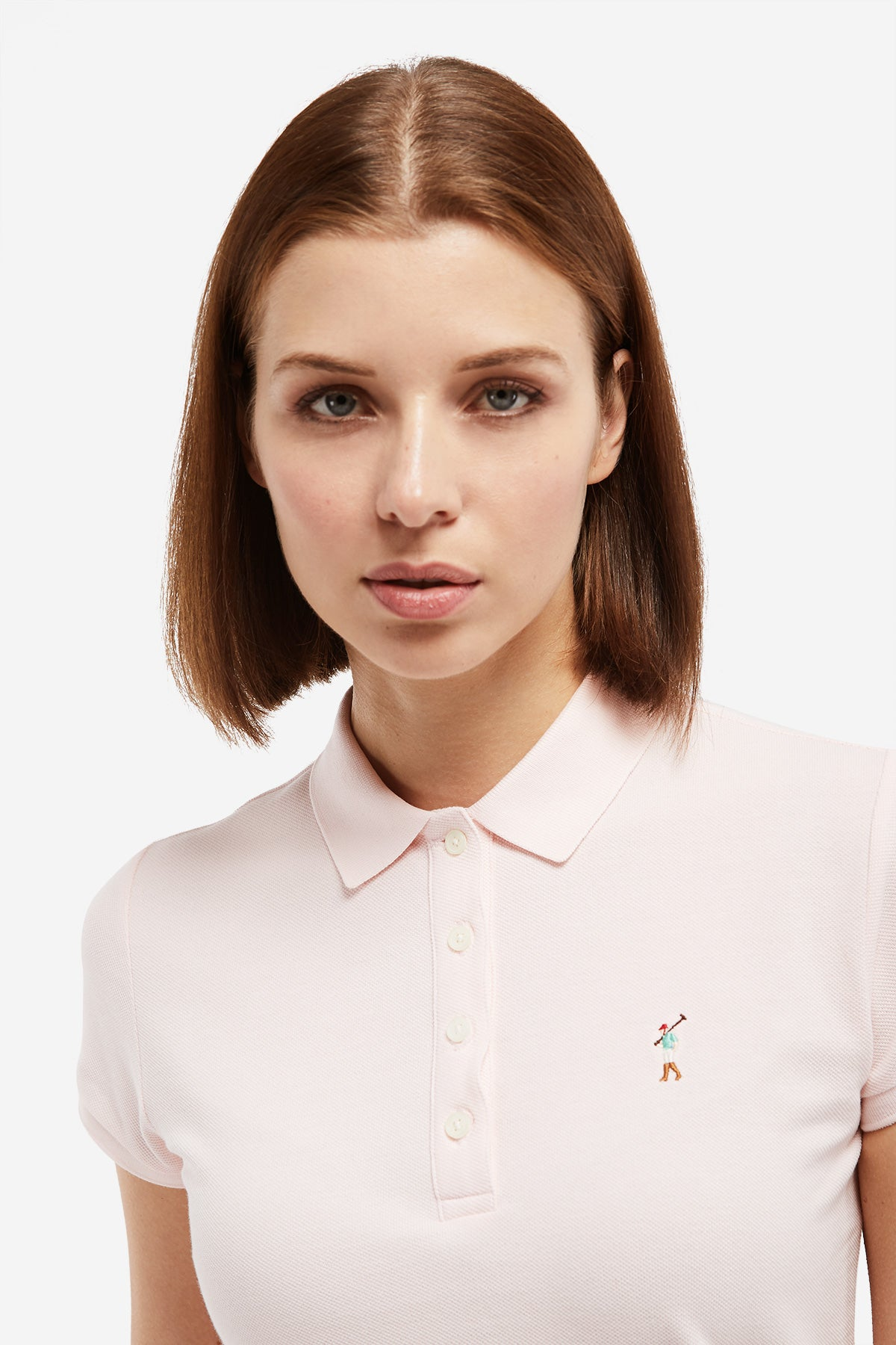 Polo MISS RIGBY GO COLOR Rosa