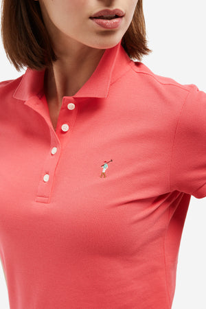 Polo MISS RIGBY GO COLOR Fucsia