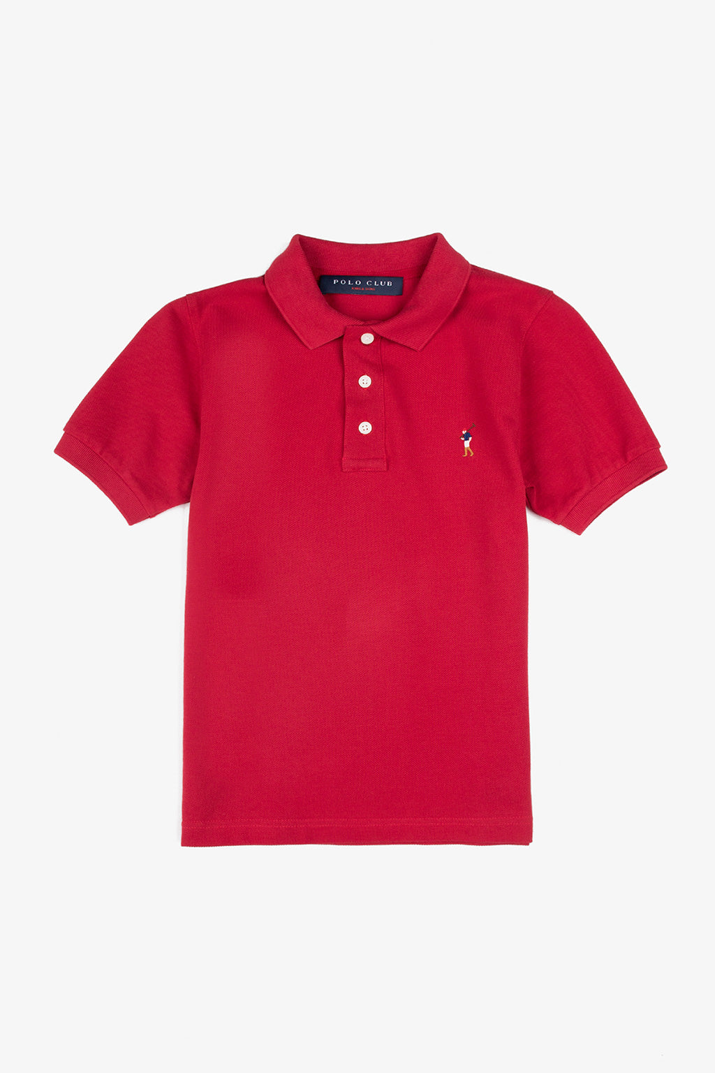 Basic Polo Kids Logo Color