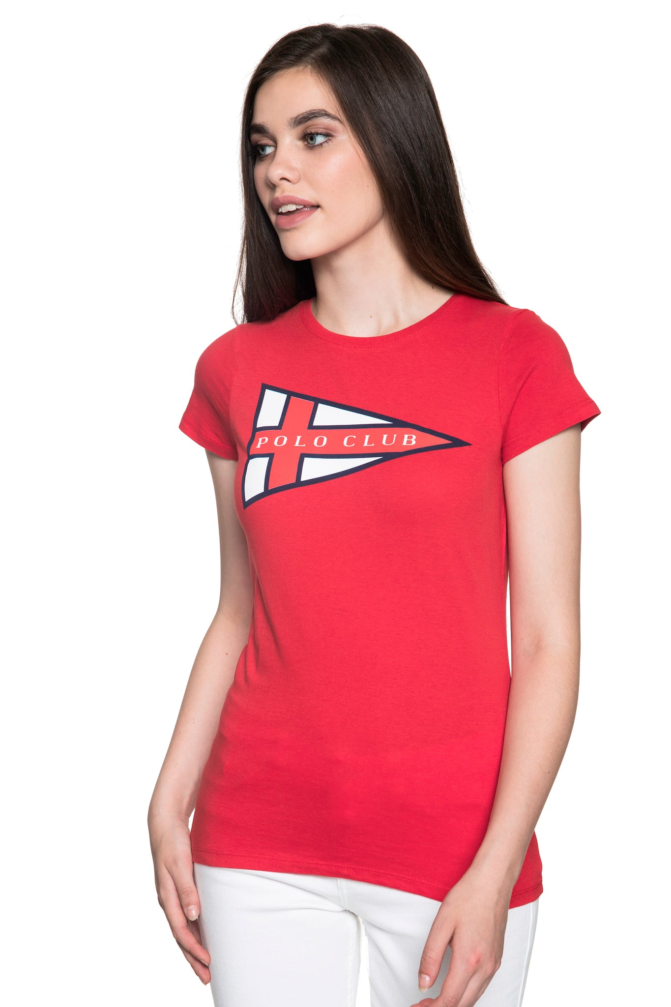 Camiseta Rojo Nautical Title