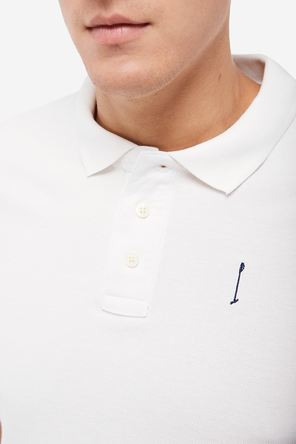 Polo Knot blanco