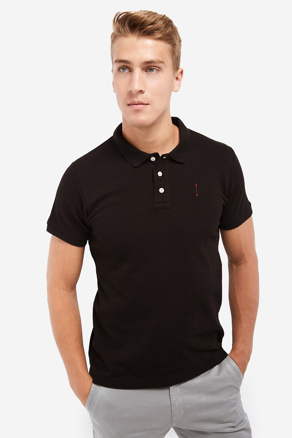 Black Knot polo shirt