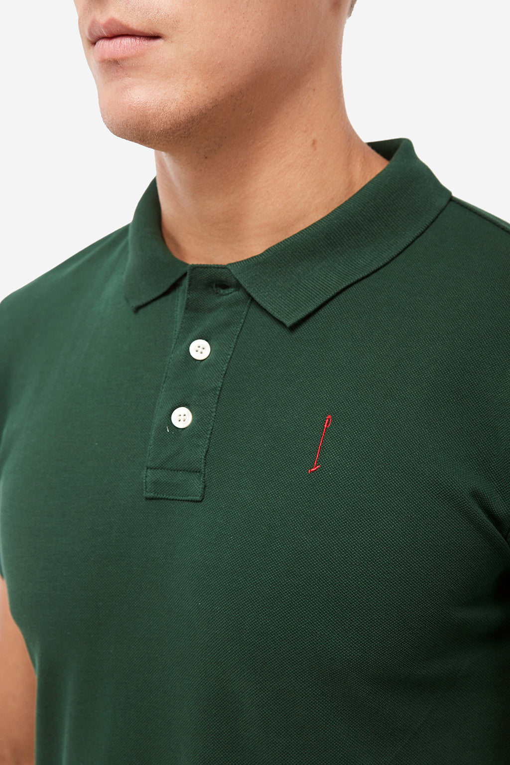 Green Knot polo shirt