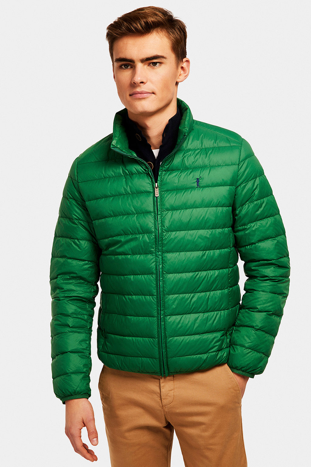 Green Ultralight jacket