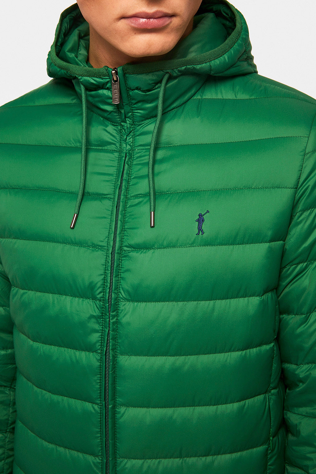 Green Ultralight hoodie jacket