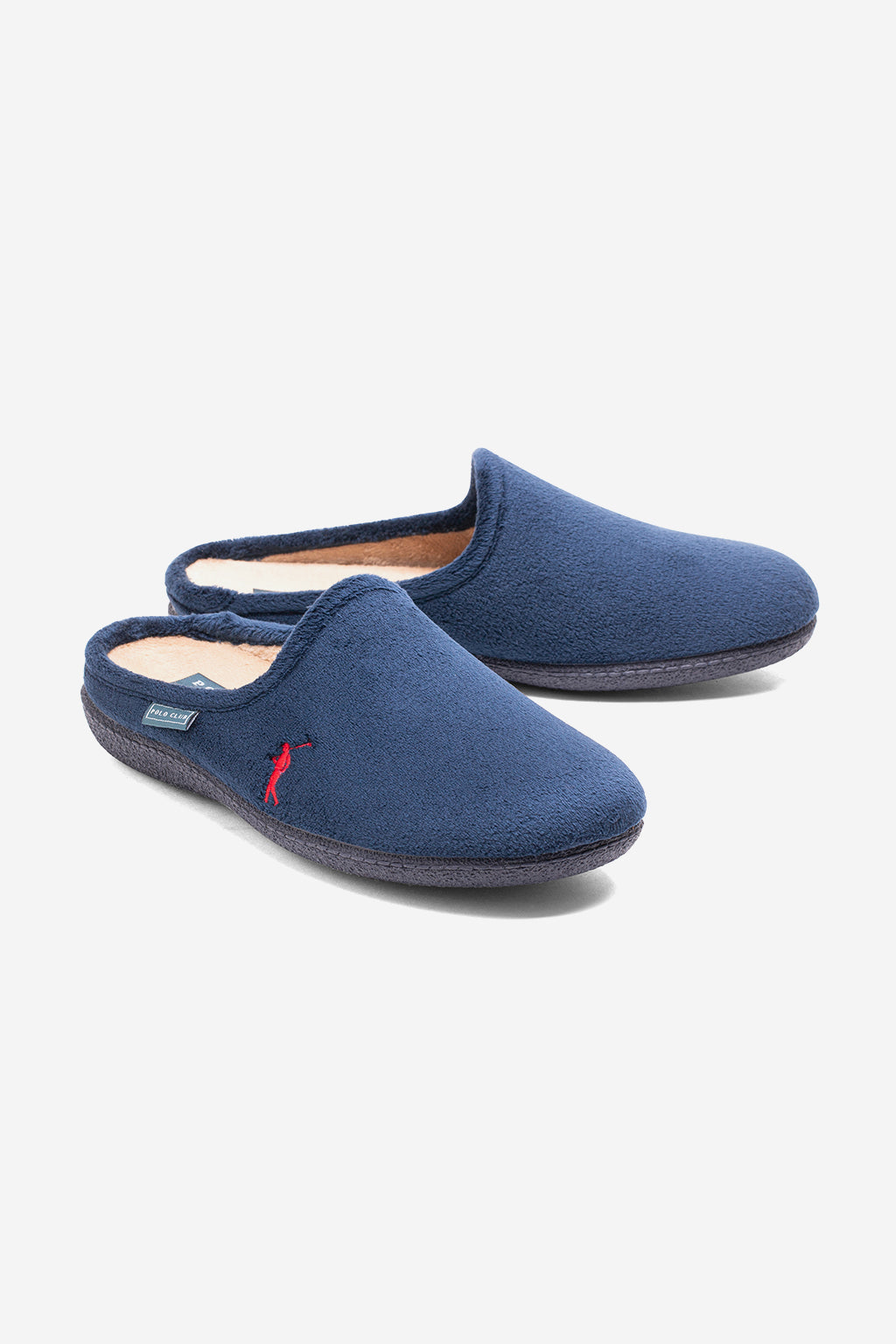 Zapatillas de casa azul marino Slippers Mini Rigby Go
