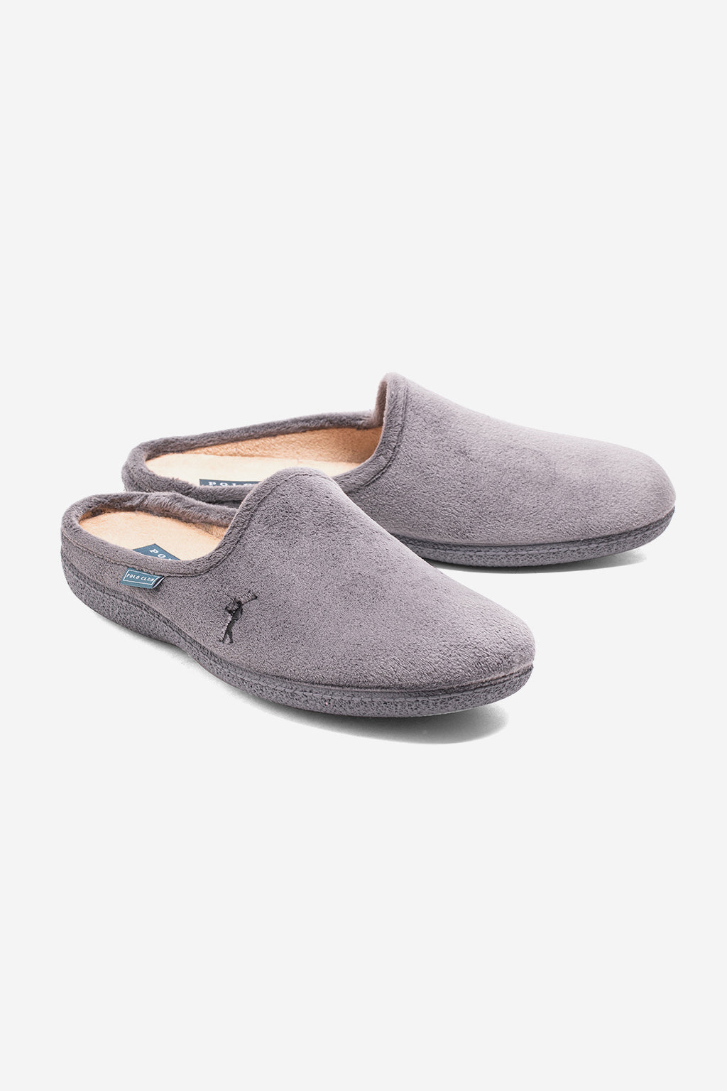 Zapatillas de casa gris Slippers Mini Rigby Go