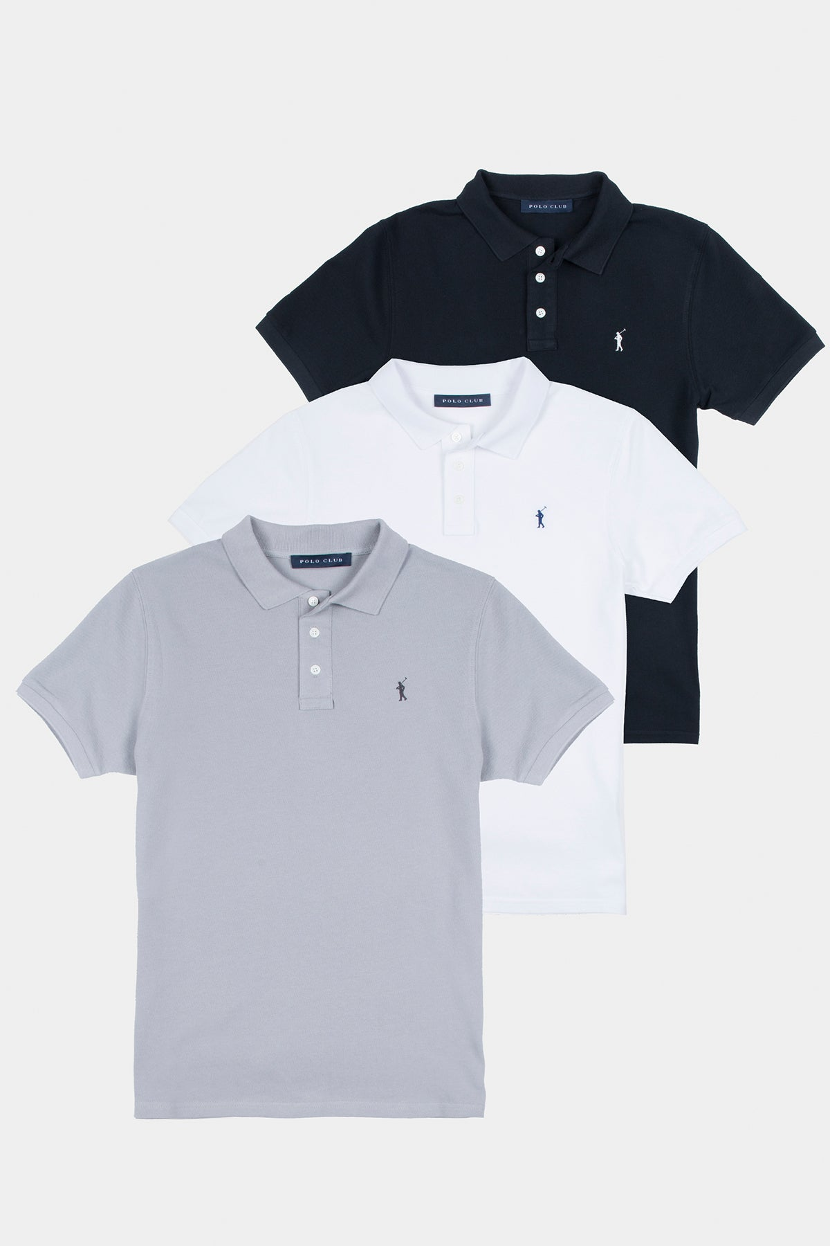 Pack Polos Classic Hombre