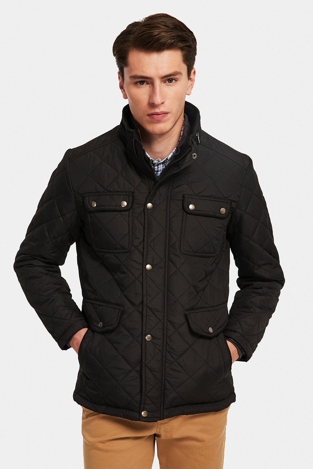 Chaqueta Negro Boston