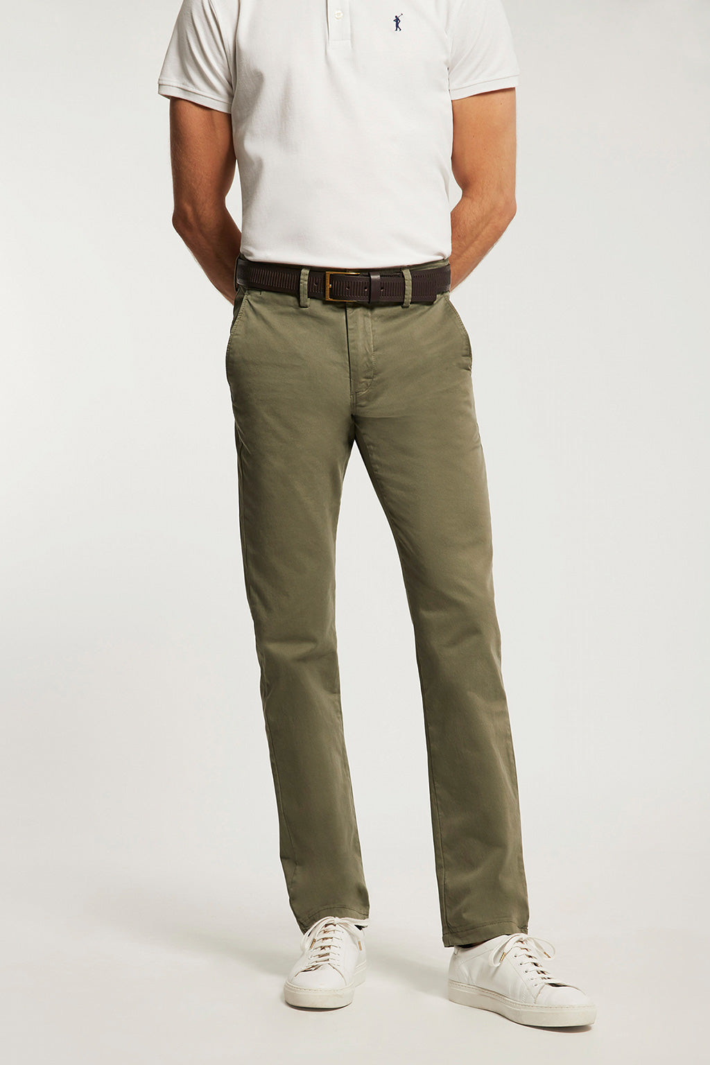 Pantalón Custom Fit Khaki