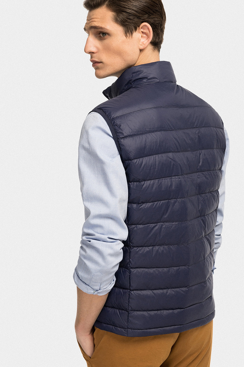 Navy blue ultralight vest