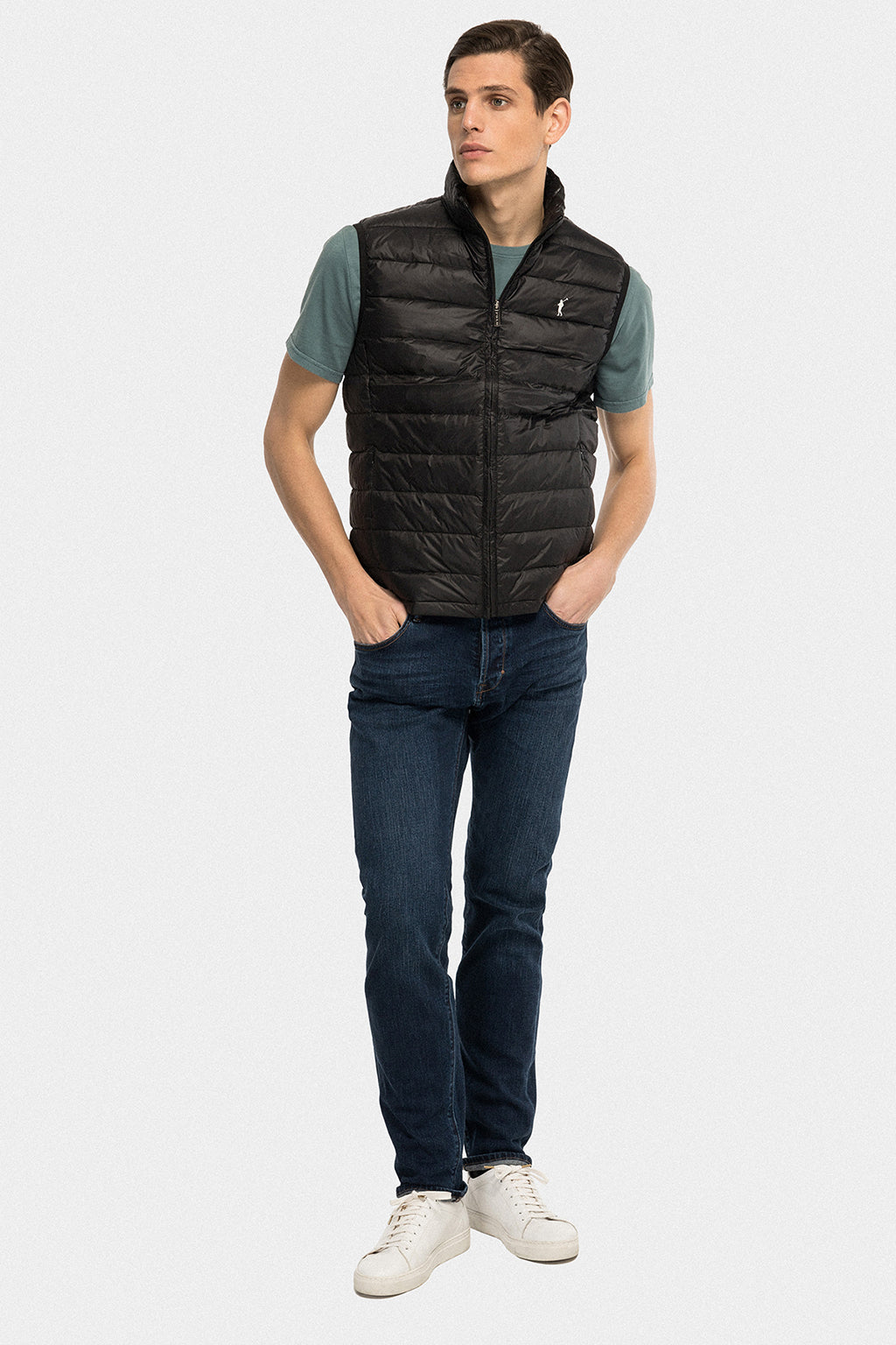 Black ultralight vest
