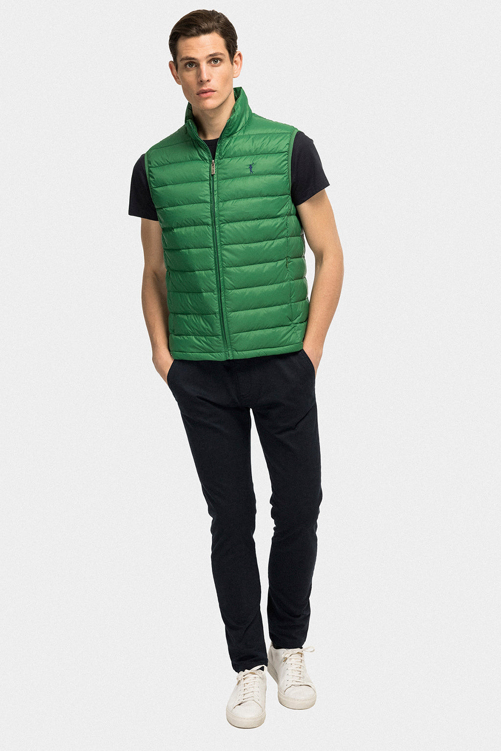 Green ultralight vest