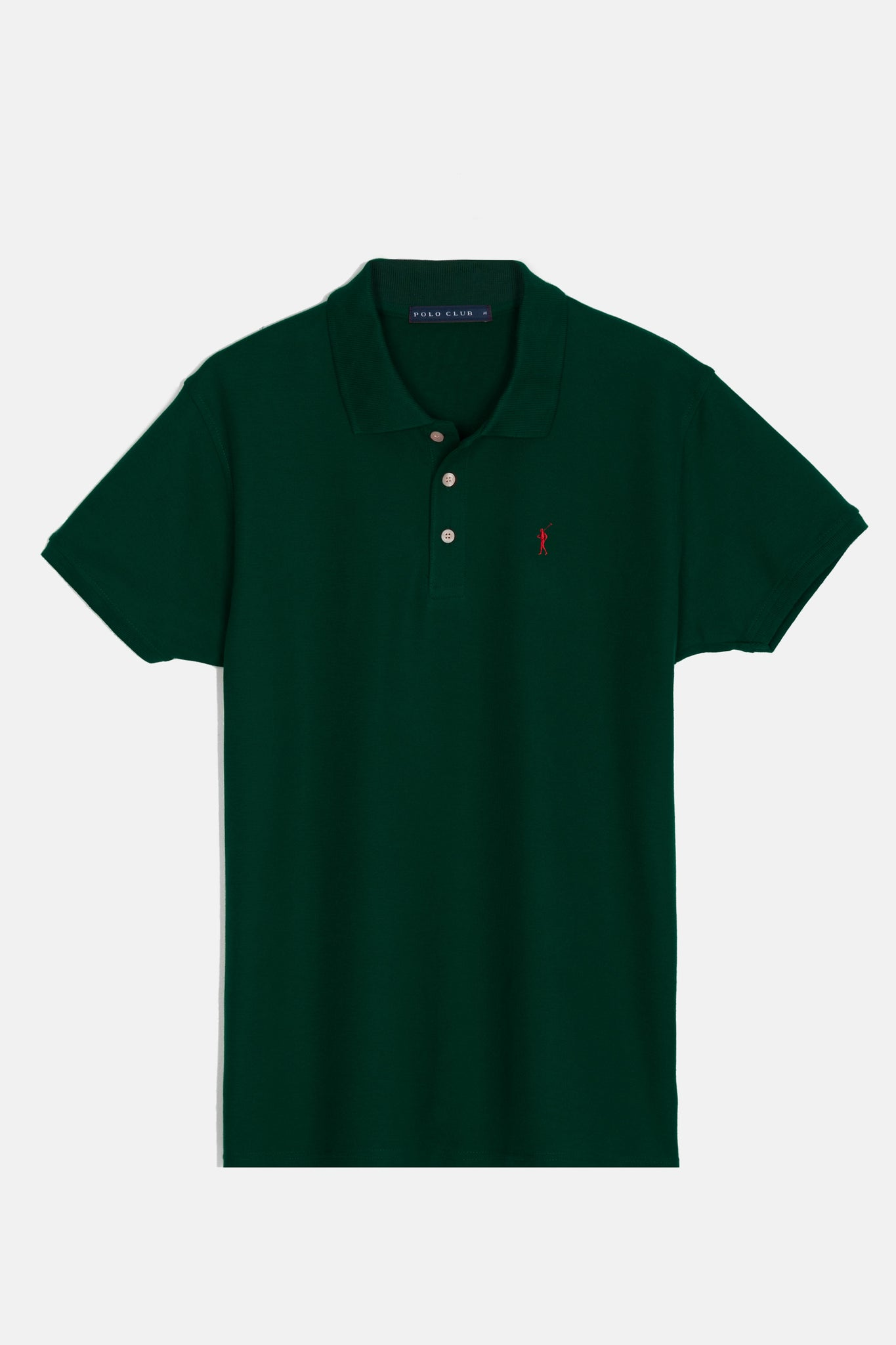 Polo shirt with embroidered logo 3 pack