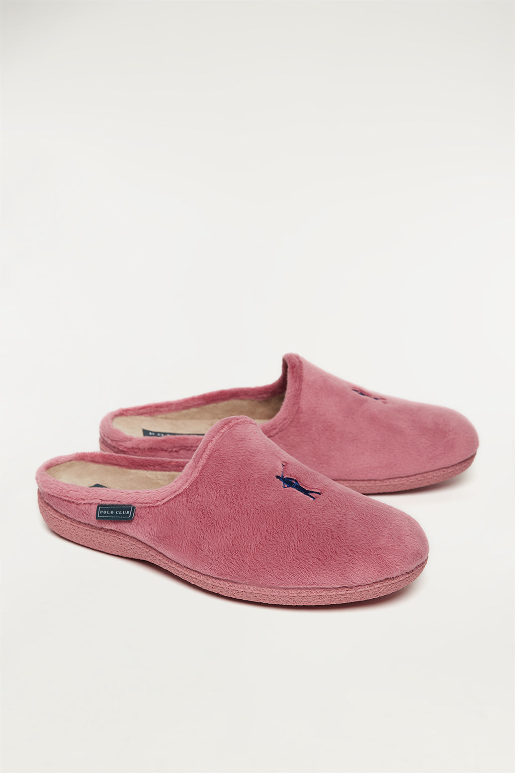 Pink women's sleepers with logo