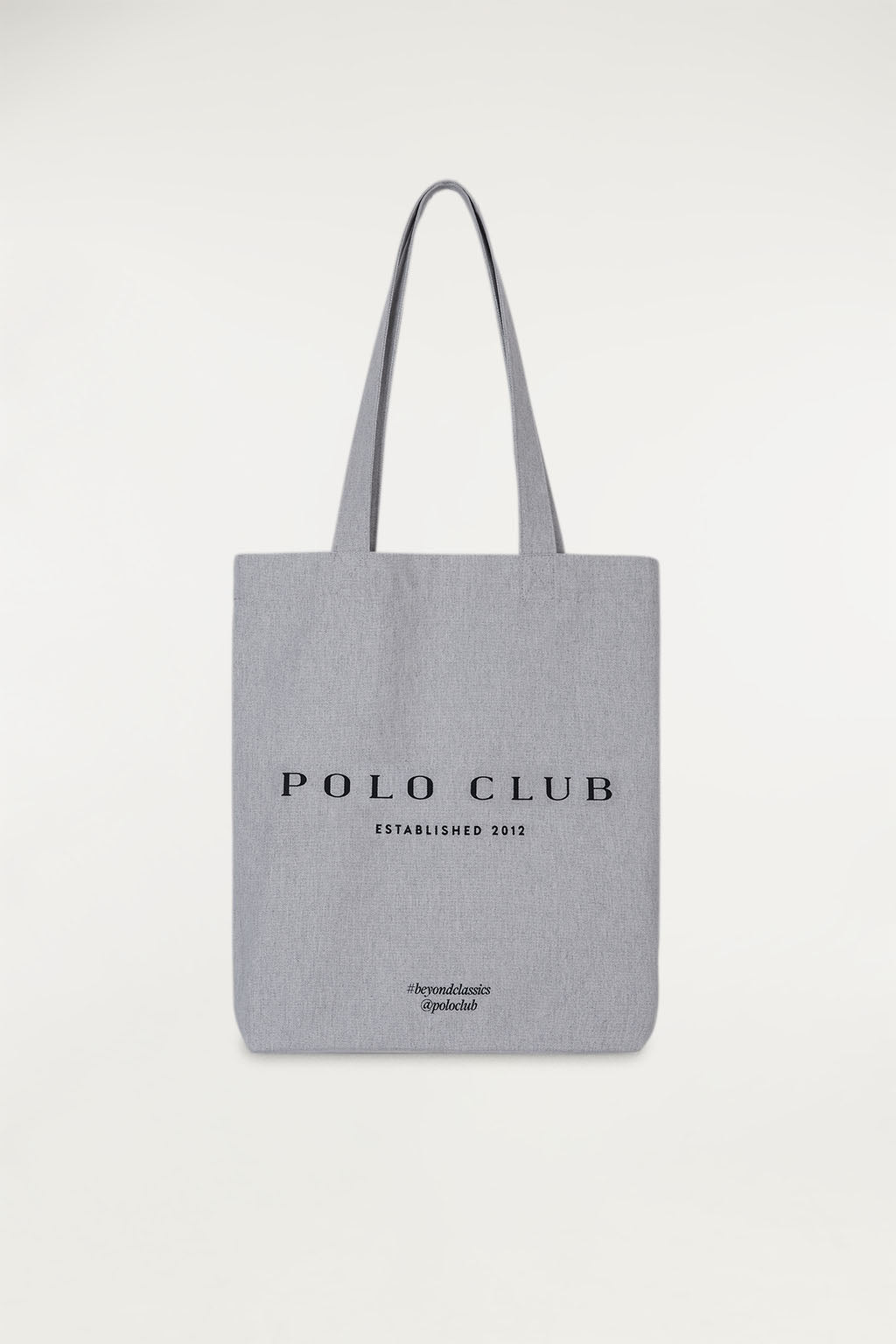 Shopping bag con stampa frontale