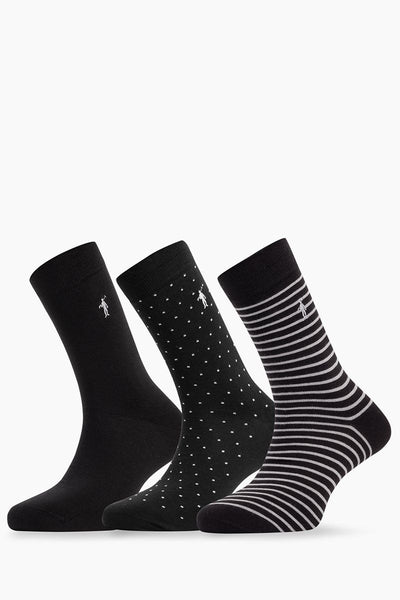 Polo Club Calcetines Pack PLAIN DOTS LINE RIGBY  CALCETINES
