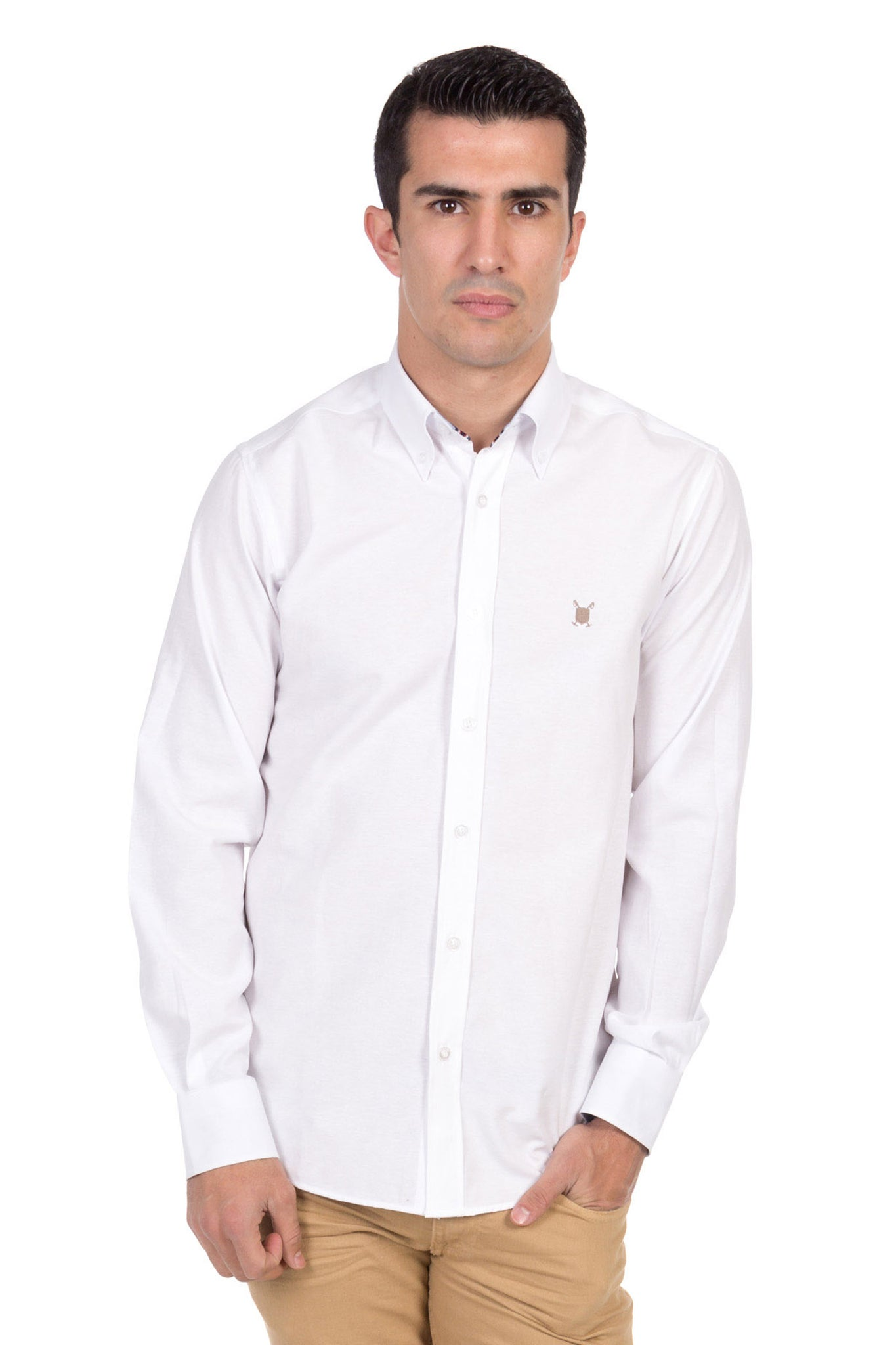 Camisa Blanco Gentleman Polo Shirt