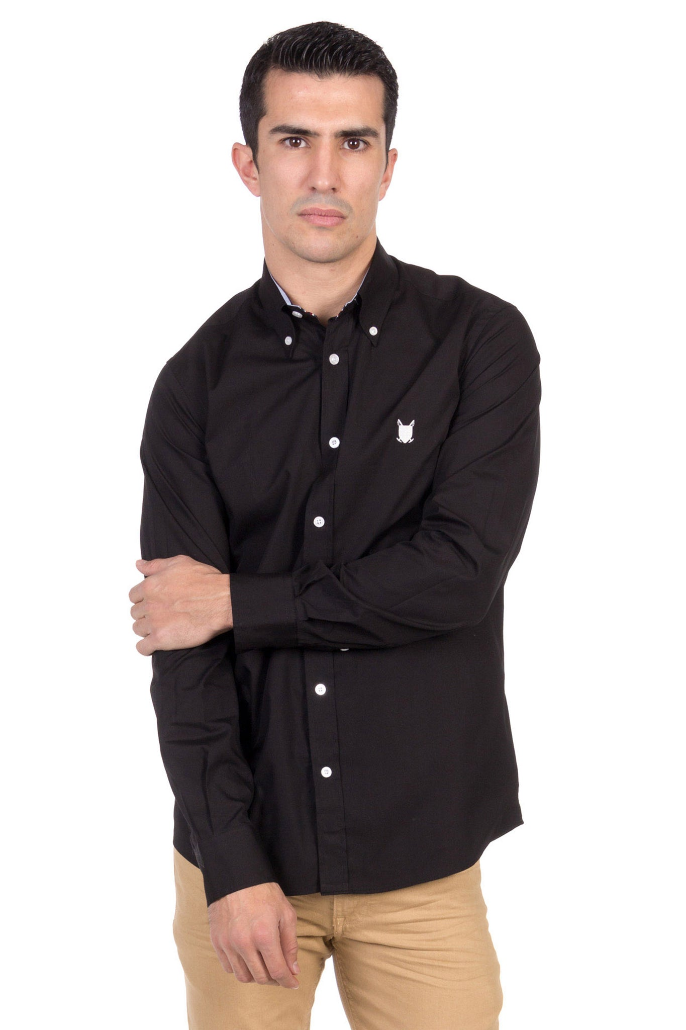 Camisa Negro New Small Shield Shirt