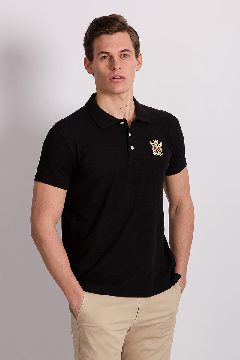 Polo Club Polo MAJOR BASIC Negro POLOS