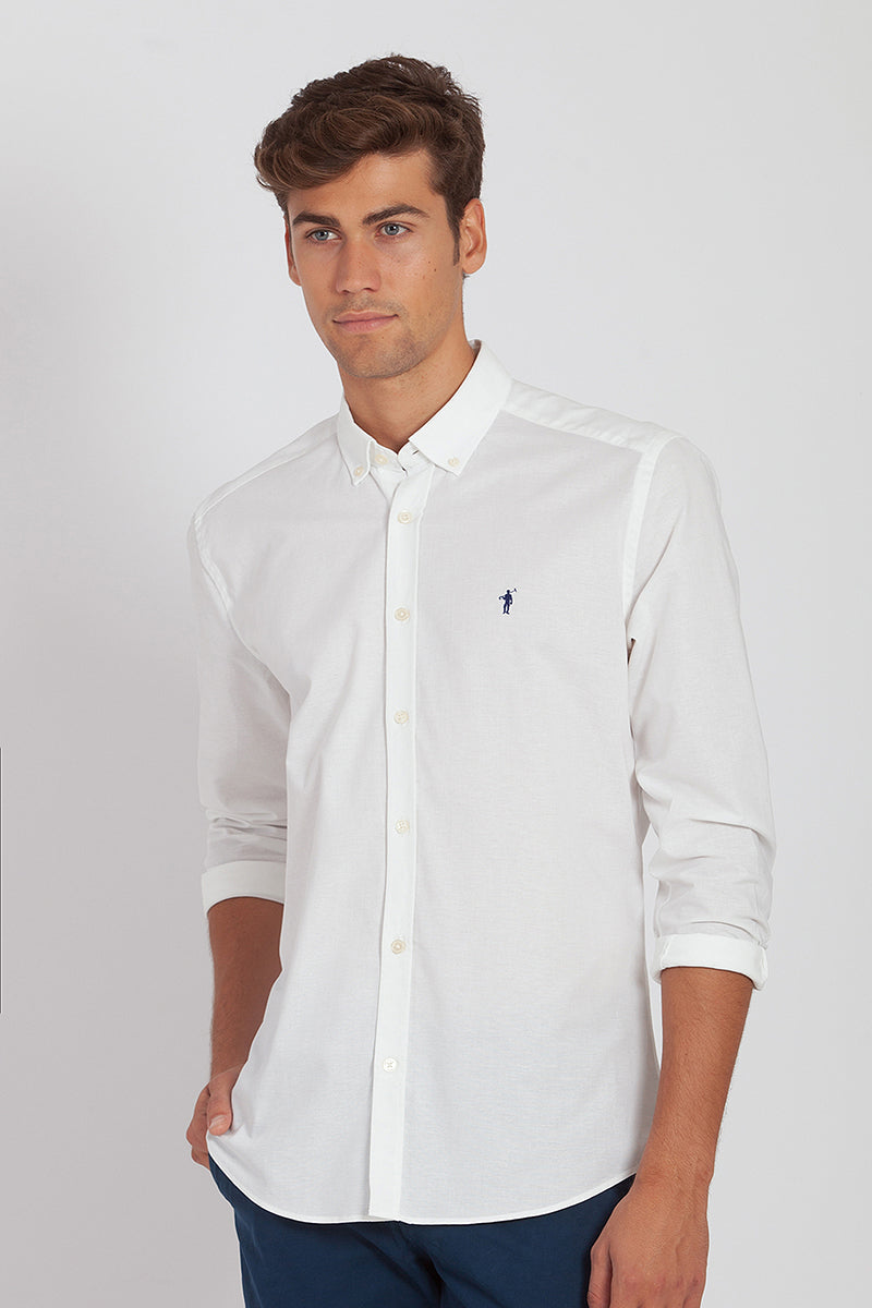 Polo Club Camisa MINI RIGBY OXFORD Blanco CAMISAS
