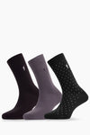 Polo Club Calcetines Pack PLAIN DOTS RIGBY  CALCETINES
