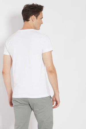 Camiseta CIRCLE HELMET Blanco