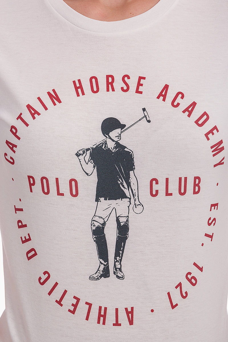 Polo Club Camiseta DIRK blanco CAMISETAS