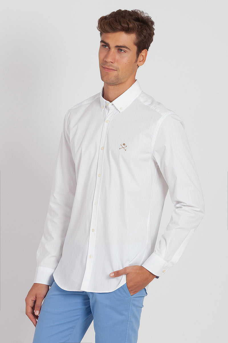 Polo Club Camisa ACADEMY BASIC Blanco CAMISAS