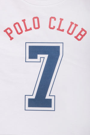 Polo Club Camiseta PC-7 blanco CAMISETAS