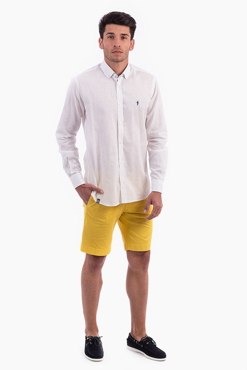 Polo Club Bermuda NEW RIBERA amarillo BERMUDAS