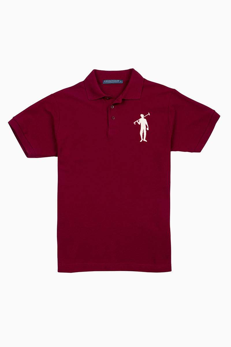Polo Club Polo BIG PLAYER granate POLOS