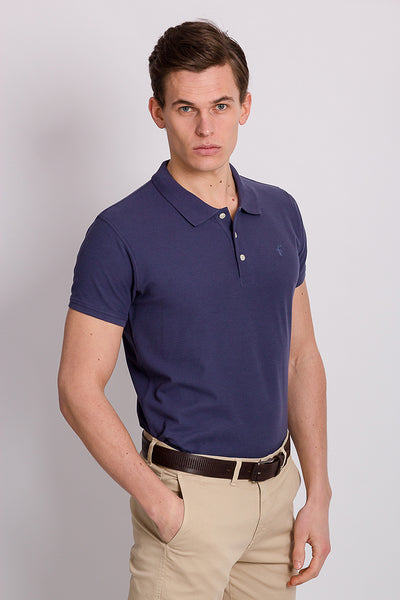 Polo Club Polo MINI RIGBY PLAIN Azul Denim POLOS