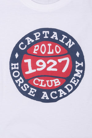Polo Club Camiseta BASEBALL blanco CAMISETAS
