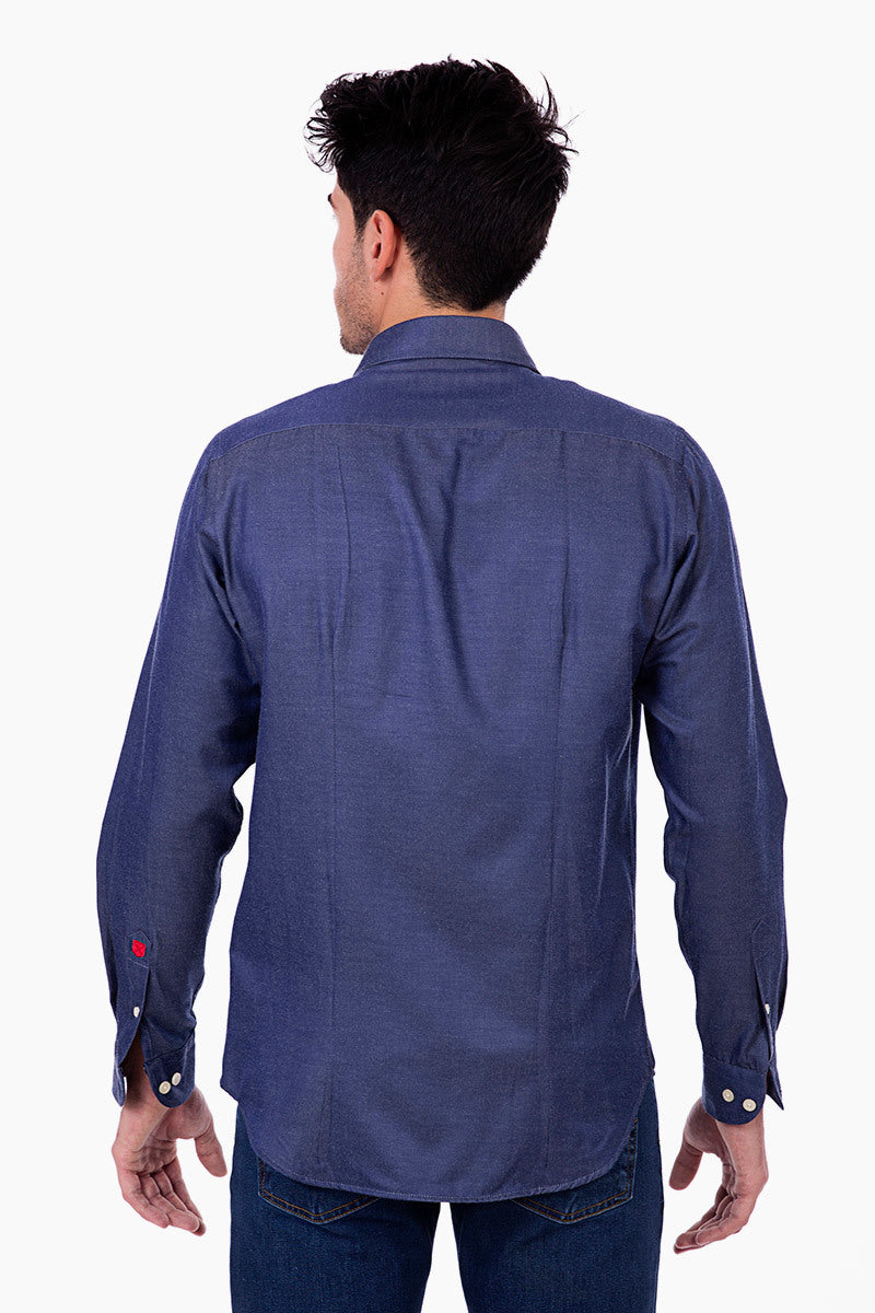 Polo Club Camisa MAVERICK SLIM denim CAMISAS