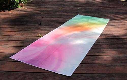 Skyin Non Slip Yoga Towel - Colorful
