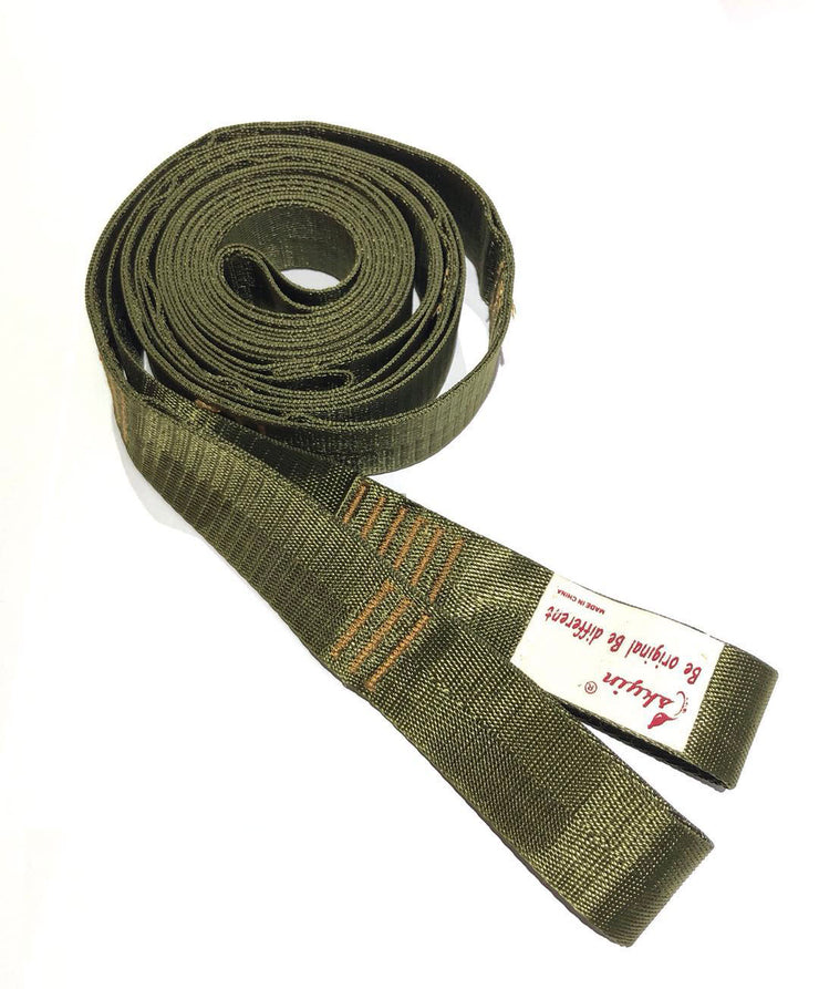 Skyin Hammock Tree Straps( Olive Green-Extra Wide 1.3 inch)