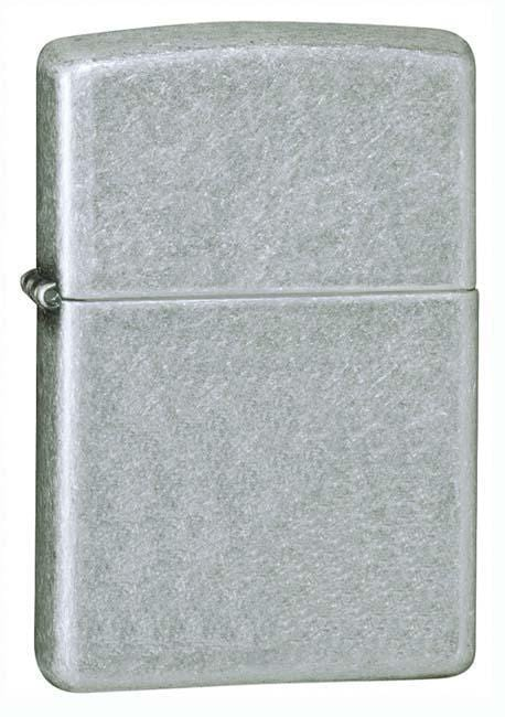 Zippo Lighter: Antique Silver Plate - Antique Silver Plate 121FB - Gear Exec